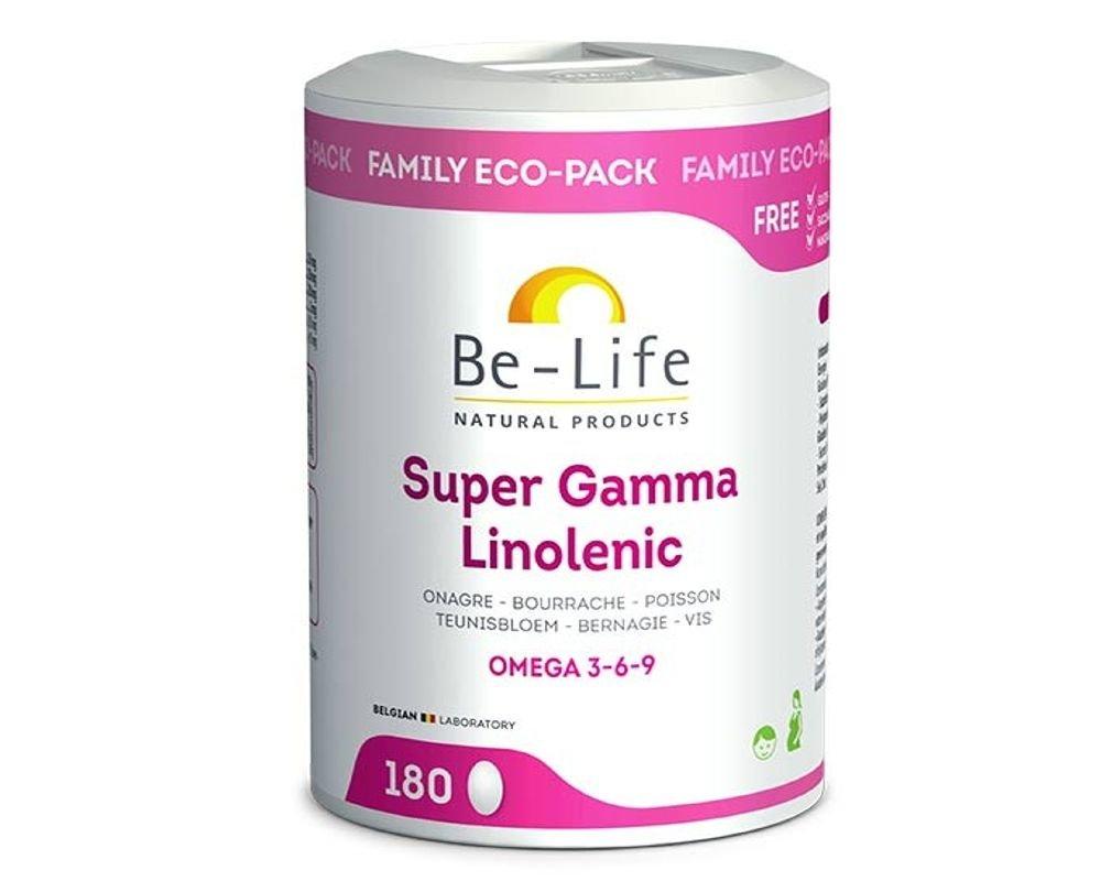 Food Supplement Omega 3 6 9 Gamma Linolenic Super 180caps Be