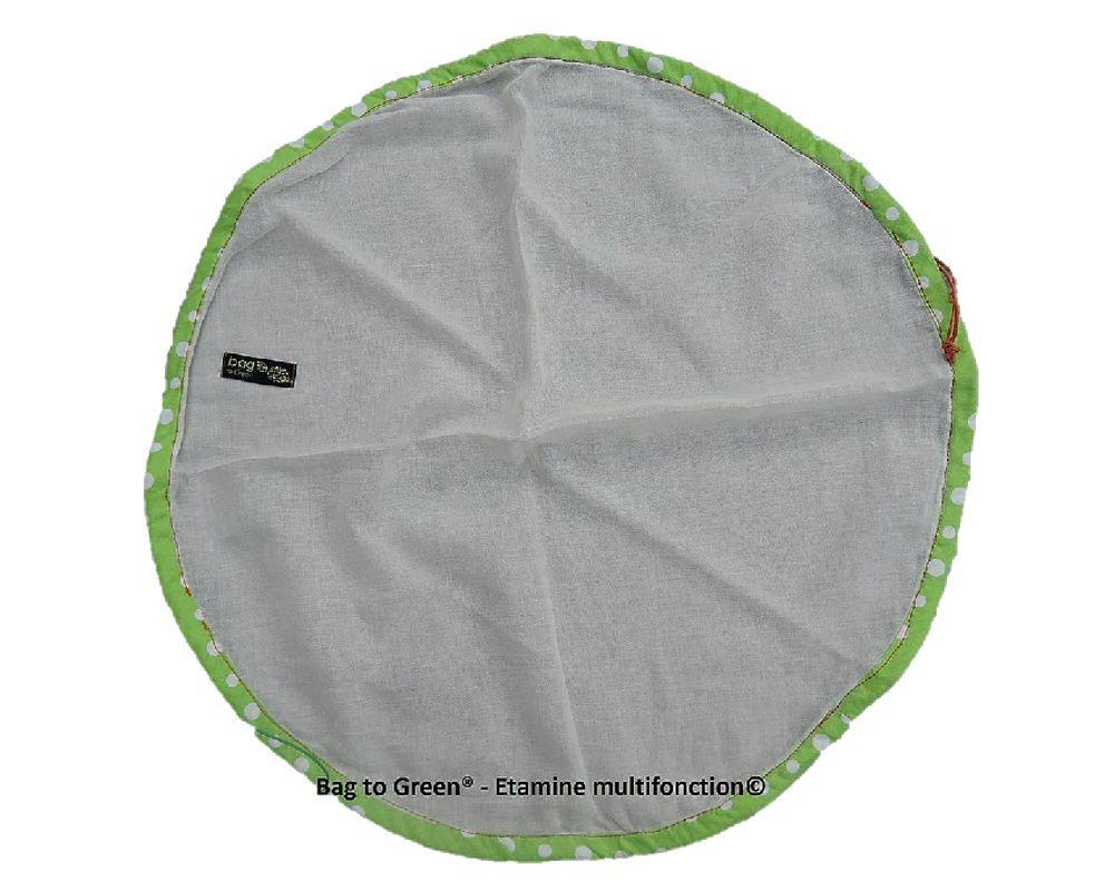 Etamine Circulaire Multifonction En Coton Biologique Bag To Green
