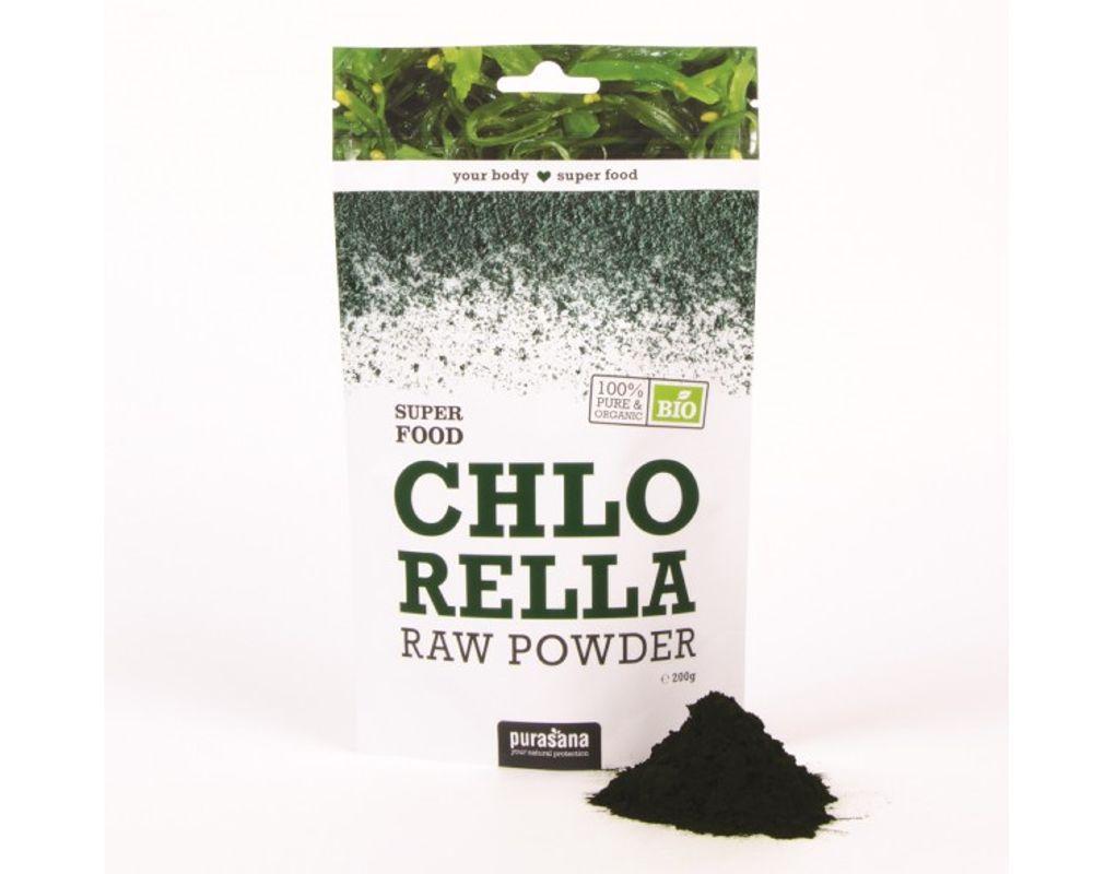 Chlorella Powder - Super Food BIO, 200 g