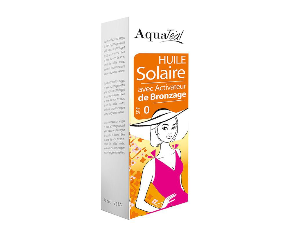 huile solaire activateur de bronzage