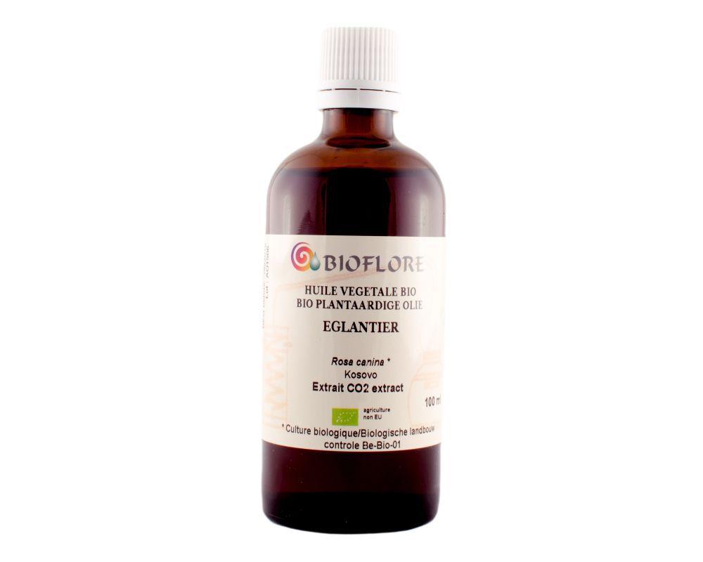 Huile D Eglantier Bio Extrait Co2 Bioflore 100 Ml