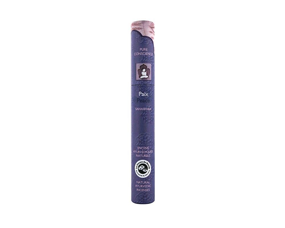 Peace - natural Ayurvedic Incense, 16 short sticks