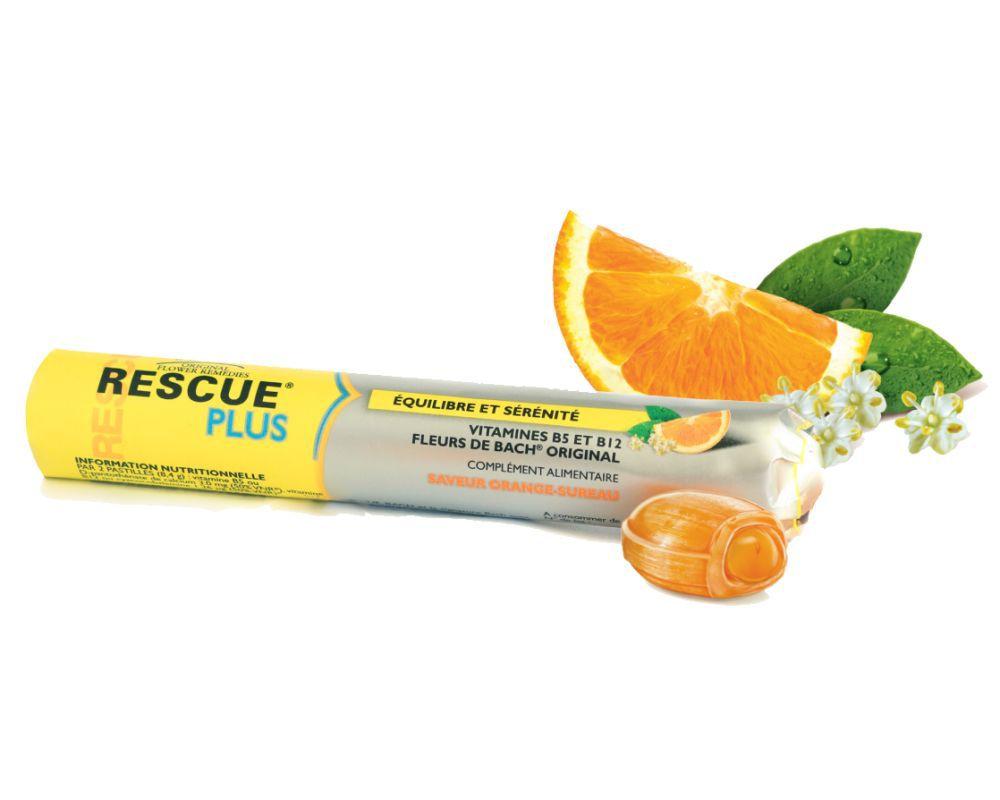 Rescue Plus Coeurs Fondants Vitamines Fleurs De Bach Original
