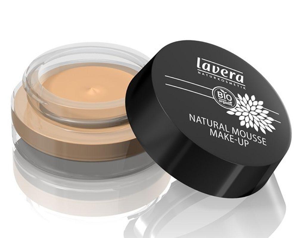 Bio Lavera De Fond Mousse Teint N°03 Honey Maquillage XOZN80wPkn