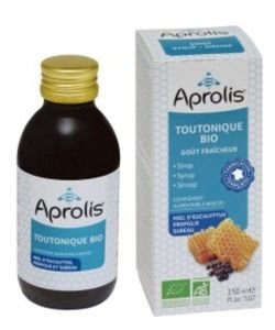Sirop Toutonique miel-propolis-sureau BIO, 150ml