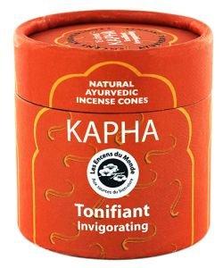 Kapha - Tonifiant - Cônes d'encens Ayurvédiques naturels