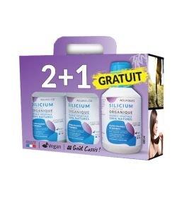 Silicium organique 100% naturel - 2 + 1 GRATUIT
