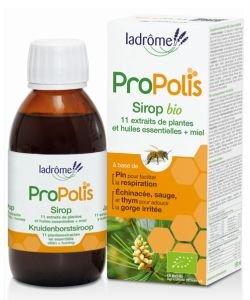 Sirop Propolis + 11 extraits  de plantes + miel