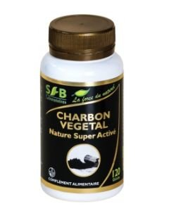 Charbon végétal super activé Nature, 120gélules