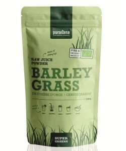 Barley Grass Juice Powder - Super Greens BIO, 200 g