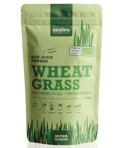 Poudre de jus d'herbe de blé - Super Greens BIO, 200g