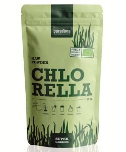 Chlorella - Super Greens BIO, 200 g