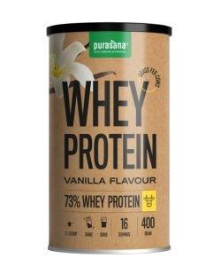 Small-milk vanilla proteins