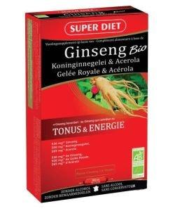 Ginseng  - Gelée royale - Acerola BIO, 20ampoules