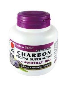 Carbo'activ charbon + myrtille bio, 60gélules
