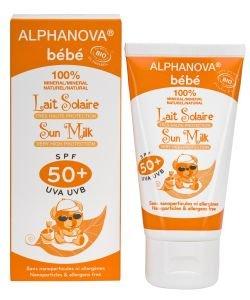 Lait solaire bébé SPF 50+