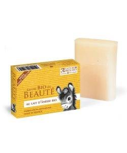 Savon au lait d'ânesse et au miel - sans parfum