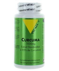 Curcuma 1000 mg, 60gélules