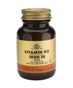 Vitamine D3 25 µg (1000 UI), 90comprimés