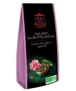 Thé Vert Sencha Vanille & Fleurs de Cerisier