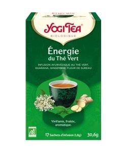 Energie du thé vert - Infusion Ayurvédique