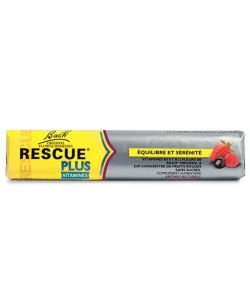 Rescue® Plus - Arôme fruits rouges, 10 pastilles