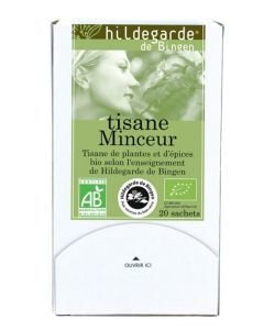 Tisane Minceur BIO, 20sachets