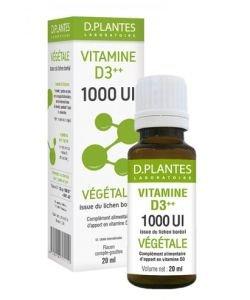 Vitamin D3 ++ 1000 IU Plant