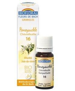 Chèvrefeuille - Honeysuckle (n°16), granules sans alcool BIO, 10ml