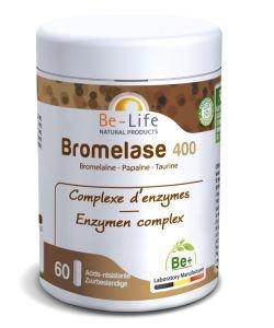 Bromelase 400, 60capsules