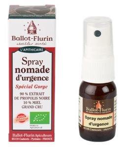 Spray nomade d'urgence BIO, 15ml