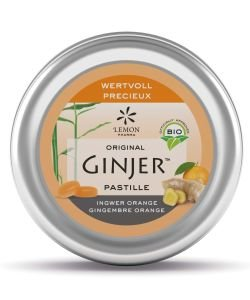 Pastilles Ginjer - Orange BIO, 40g