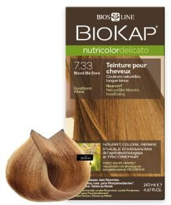 Nutricolor Delicato 7.33 Blond Blé Doré, 140 ml