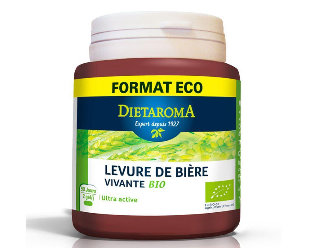 levure de biere vivante bio format eco dietaroma