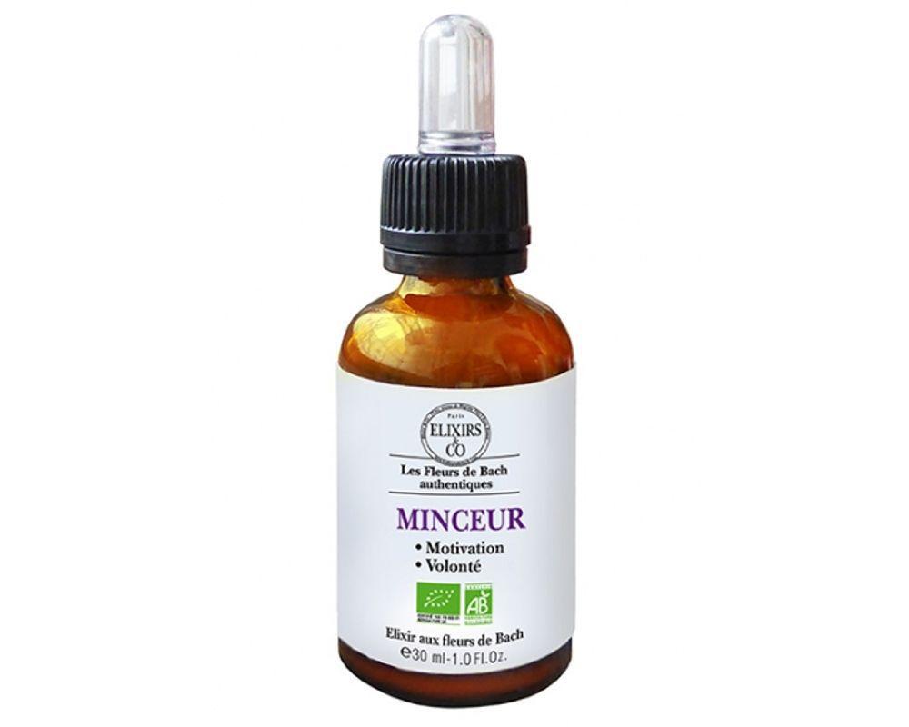 Elixir Minceur - Fleurs de Bach bio - Elixirs & Co - 30 ml
