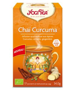 Chai assam infusion ayurvedic bio yogi tea 17 sachets for Aroma indian cuisine coupon