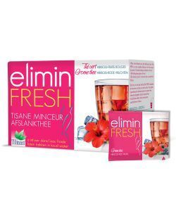 Infusion Elimin Fresh (red berries): fat-burning - Tilman