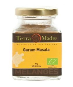 Garam masala cuisine indienne organic spices terra madre 35g for Aroma indian cuisine coupon