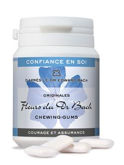 chewing gums courage et assurance 60 g dr bach. Black Bedroom Furniture Sets. Home Design Ideas