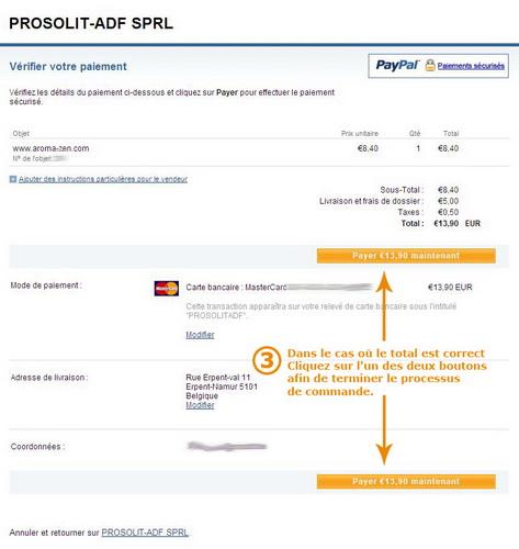 Payement avec un compte paypal - Payer en 3 fois avec paypal ...