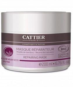 masque r parateur cheveux secs bio cattier 200 ml. Black Bedroom Furniture Sets. Home Design Ideas