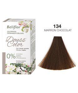 dousscolor 134 marron chocolat coloration douce beliflor. Black Bedroom Furniture Sets. Home Design Ideas