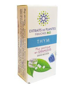 thym bio extrait de plante fra che en granules kosmeo. Black Bedroom Furniture Sets. Home Design Ideas