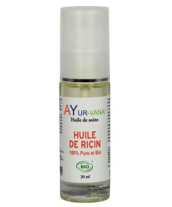 huile de ricin 100 pure et bio ayur vana 30 ml. Black Bedroom Furniture Sets. Home Design Ideas