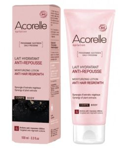 Lait hydratant anti repousse bio acorelle 100 ml for Anti repousse poil maison