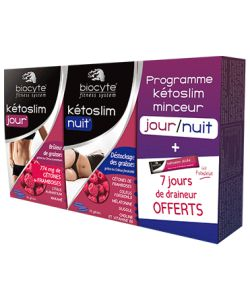 programme ketoslim minceur jour nuit biocyte 2 x 60 g lules. Black Bedroom Furniture Sets. Home Design Ideas