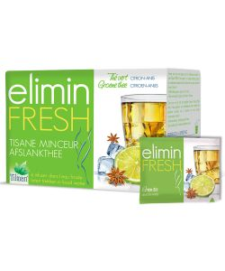 Elimin Fresh - Tisane Minceur - Thé vert Citron Anis - Tilman