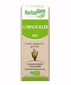 Circulation : bourgeon de cornouiller bio (50ml) - Herbalgem