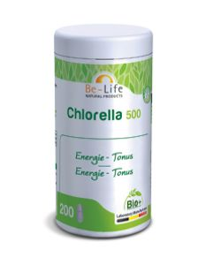 compl ment alimentaire vitalit chlorella 500 200 tabs be life. Black Bedroom Furniture Sets. Home Design Ideas