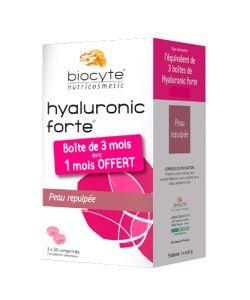 pack hyaluronic forte 200 mg biocyte 3 x 30 comprim s. Black Bedroom Furniture Sets. Home Design Ideas